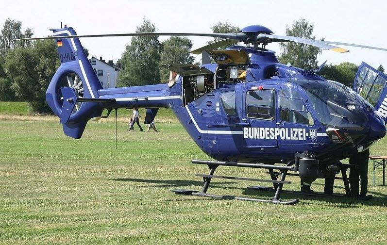 Zwischen 01.01.14 und 30.09.15 wurde Konstanz 107x von Hubschraubern der Bundespolizei angeflogen.