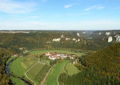 Erzabtei Beuron im oberen Donautal