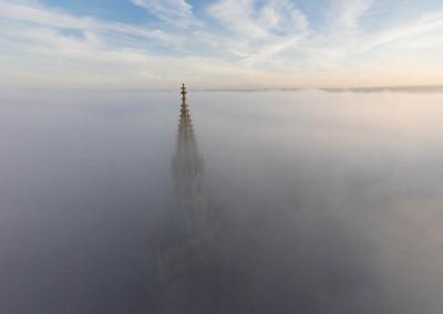 Konstanzer Münster im Nebel
