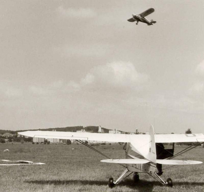Motorflugbetrieb nach dem zweiten Weltkrieg