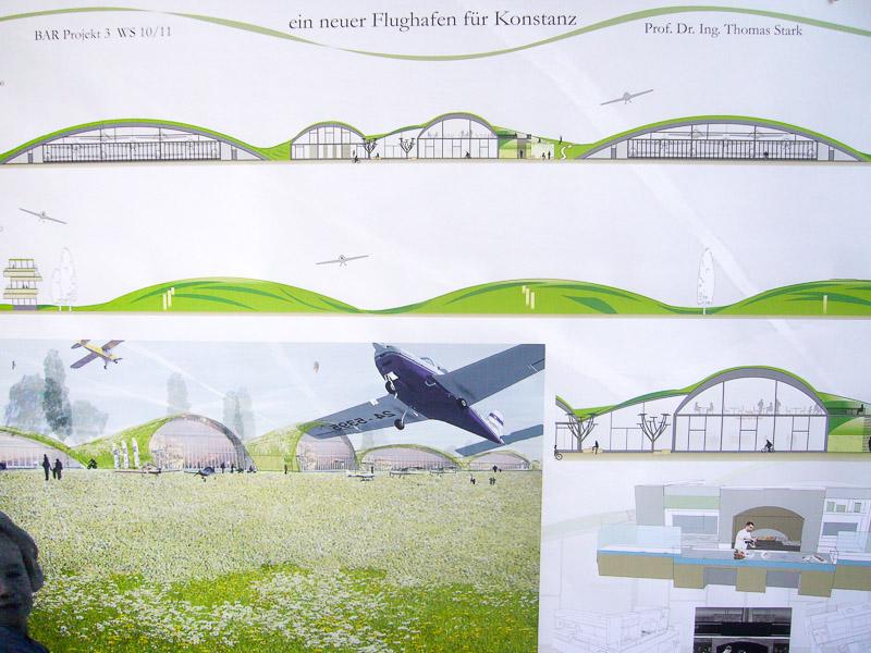 Semesterarbeit für Neugestaltung des Flugplatz Konstanz