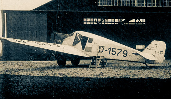 Junkers F13 in Konstanz
